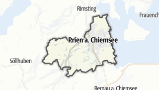 地图 / Prien am Chiemsee