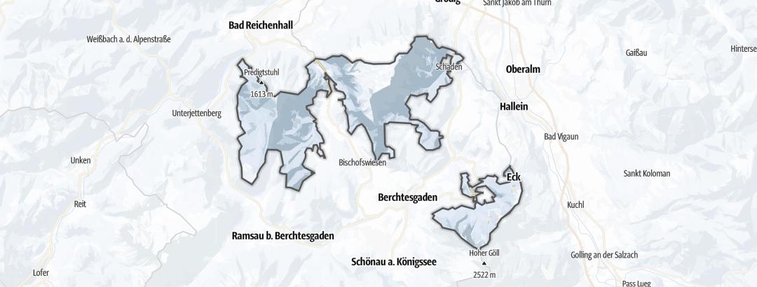 Carte / Luges - Berchtesgadener Land