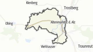 地图 / Altenmarkt an der Alz