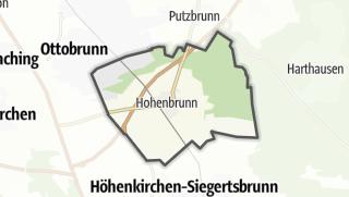 Karte / Hohenbrunn