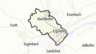 Mapa / Ergolding