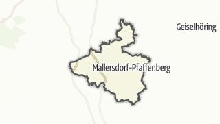 地图 / Mallersdorf-Pfaffenberg