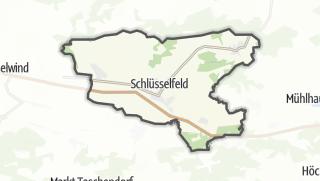 Carte / Schluesselfeld