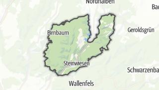 Mapa / Steinwiesen