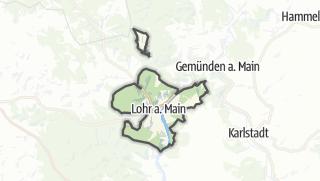 Carte / Lohr am Main