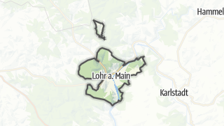Cartina / Lohr am Main