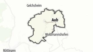 Mapa / Aub
