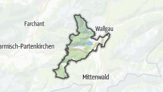 Karte / Krün