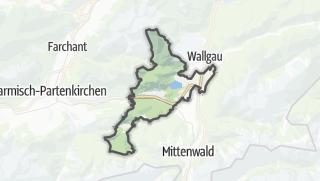 Mapa / Krün