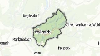 Mapa / Wallenfels
