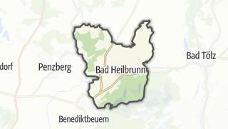 Map / Bad Heilbrunn