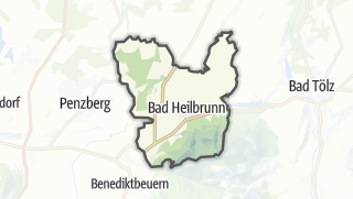 Carte / Bad Heilbrunn