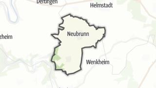 Mapa / Neubrunn