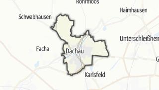 Mapa / Dachau
