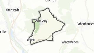 Karte / Osterberg