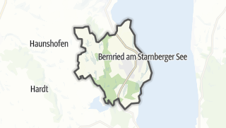 Map / Bernried am Starnberger See