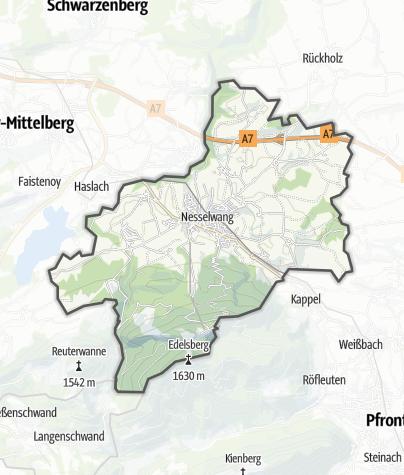 Karte / Nesselwang