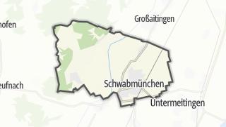 Mapa / Schwabmünchen