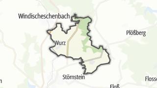 Cartina / Püchersreuth