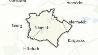 Mapa / Rohrenfels