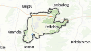 Map / Jettingen-Scheppach
