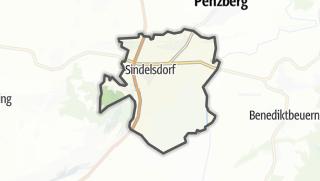 מפה / Sindelsdorf