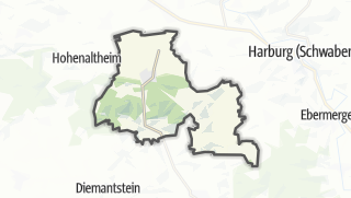 Carte / Mönchsdeggingen