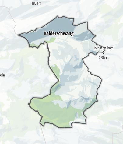 Karte / Balderschwang