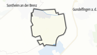 Mapa / Baechingen an der Brenz