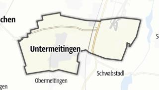 Karte / Untermeitingen