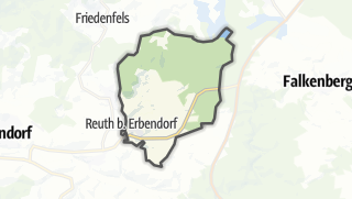 Cartina / Reuth bei Erbendorf
