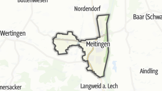 Map / Meitingen