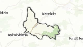 地图 / Ipsheim