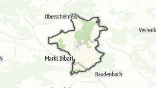 地图 / Scheinfeld