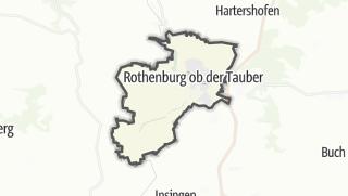 Map / Rothenburg ob der Tauber