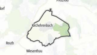 Cartina / Kirchehrenbach