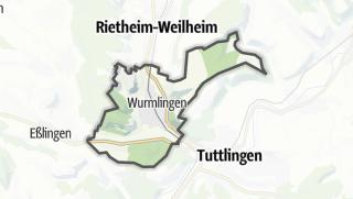 Mapa / Wurmlingen