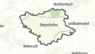 Map / Dietenhofen