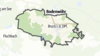 Mapa / Bruck in der Oberpfalz
