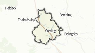Carte / Greding