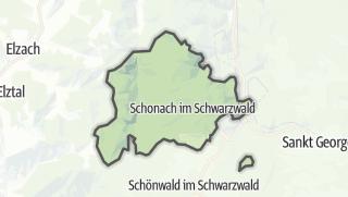 Karte / Schonach im Schwarzwald