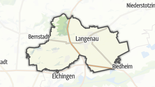 Cartina / Langenau