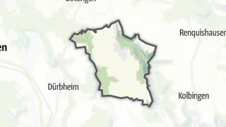 Mapa / Mahlstetten