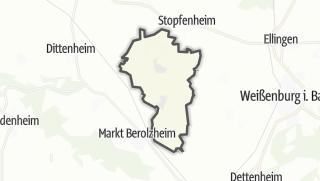 Mapa / Alesheim