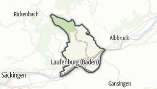 Mapa / Laufenburg (Baden)