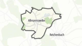 地图 / Allmannsweiler
