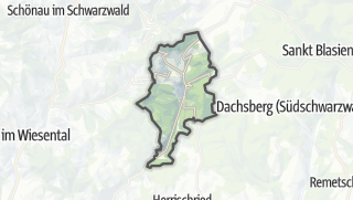 Mapa / Todtmoos