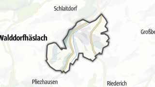 Cartina / Neckartenzlingen