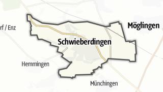 地图 / Schwieberdingen