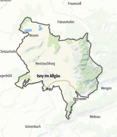 Karte / Isny im Allgäu